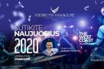 "Glistering New Year Eve in Palanga in Hotel ""Vanagupe"" *****"