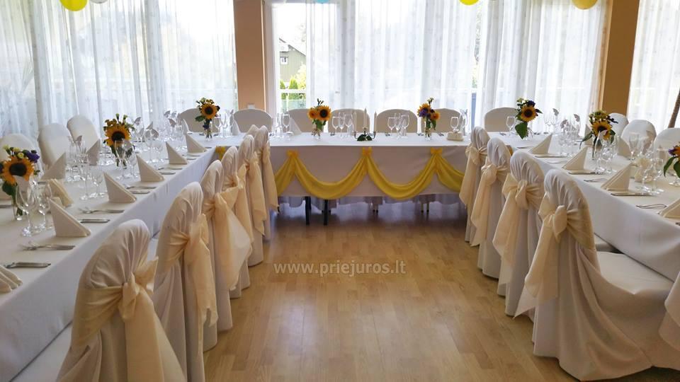 Salė Jūsų vestuvėms, krikštynoms, gimtadieniui, įmonės šventei