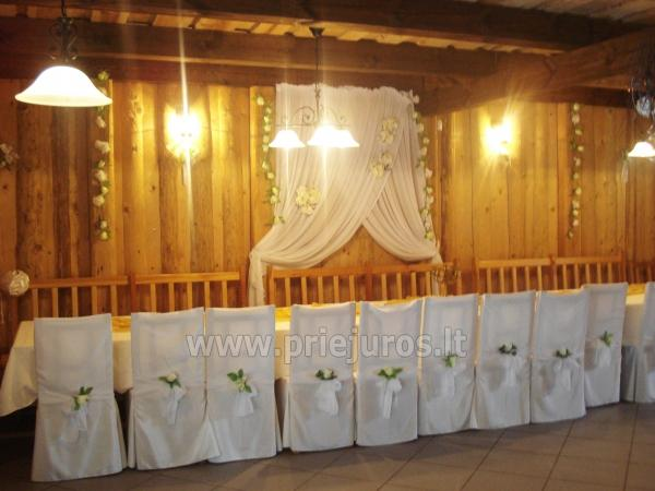 Banquet hall and bath for rent in Klaipeda district - 2