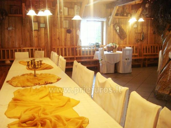 Banquet hall and bath for rent in Klaipeda district - 1