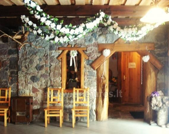Banquet hall and bath for rent in Klaipeda district - 3