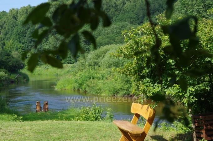 Turistinė stovykla Minijos senvagė - sąskrydžiams, savaitgalio pramogoms. Baidarių nuoma - 1