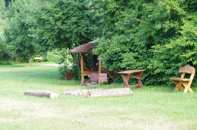 Turistinė stovykla Minijos senvagė - sąskrydžiams, savaitgalio pramogoms. Baidarių nuoma - 2