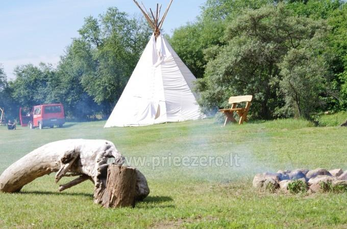 Turistinė stovykla Minijos senvagė - sąskrydžiams, savaitgalio pramogoms. Baidarių nuoma - 3