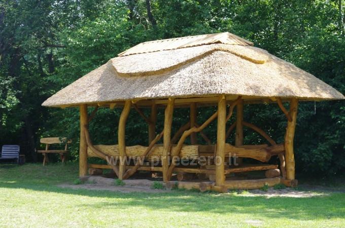 Turistinė stovykla Minijos senvagė - sąskrydžiams, savaitgalio pramogoms. Baidarių nuoma - 4