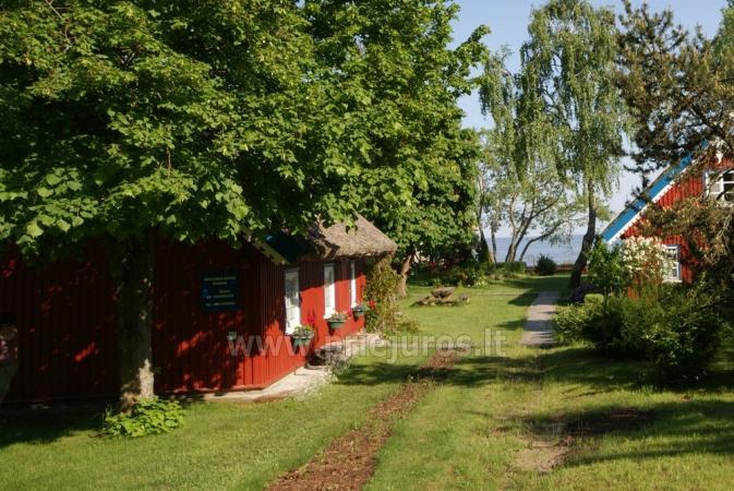 Pavasario nuojauta ir savaigalis prie jūros! Tikras žvejo namas su krosnimi ir sauna ant marių kranto! - 2