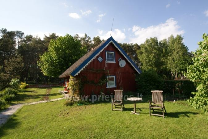 Pavasario nuojauta ir savaigalis prie jūros! Tikras žvejo namas su krosnimi ir sauna ant marių kranto! - 4