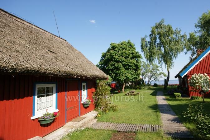 Pavasario nuojauta ir savaigalis prie jūros! Tikras žvejo namas su krosnimi ir sauna ant marių kranto! - 1