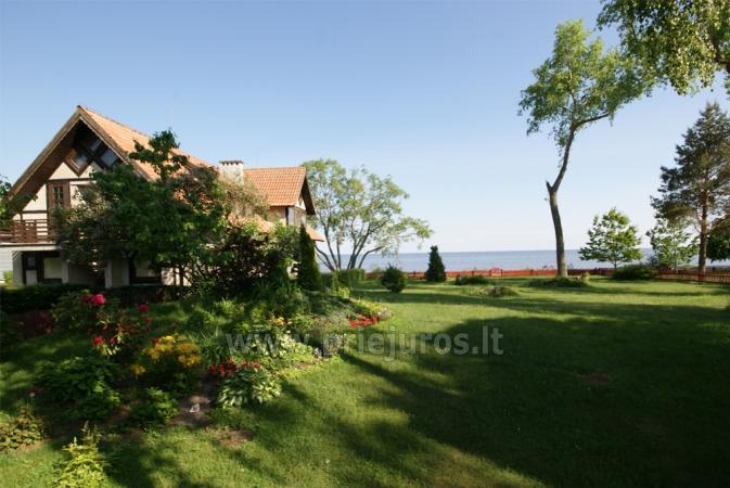 Pavasario nuojauta ir savaigalis prie jūros! Tikras žvejo namas su krosnimi ir sauna ant marių kranto! - 8