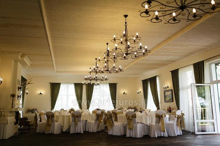 MEMELIO DVARAS - banquet hall, sauna - for all your celebrations!