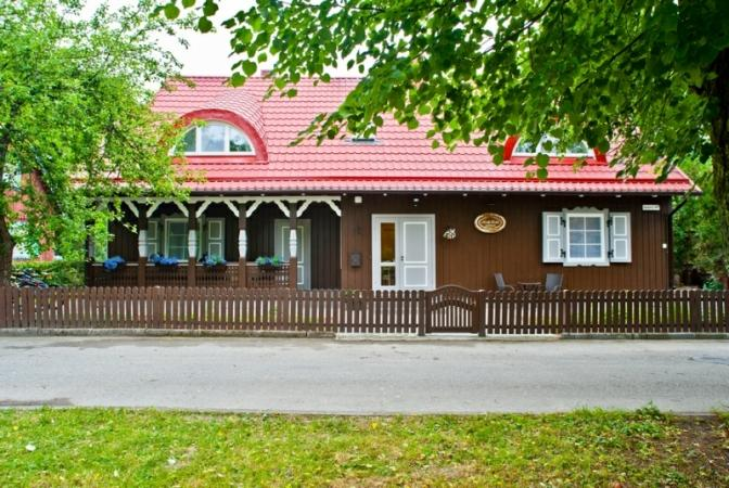 Ferienhaus in Nida Smelio juosta