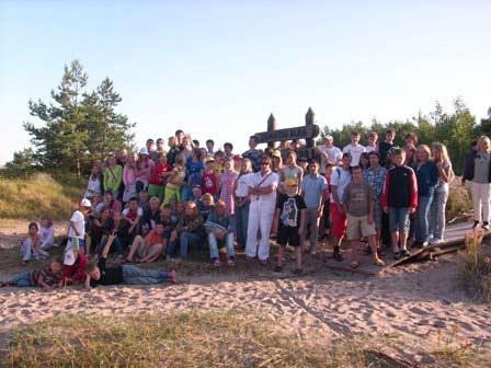 Vaikų vasaros stovykla ant jūros kranto - 4