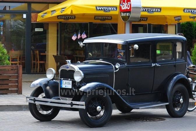 Senovinis automobilis Ford Model A 1930 nuomai - 2