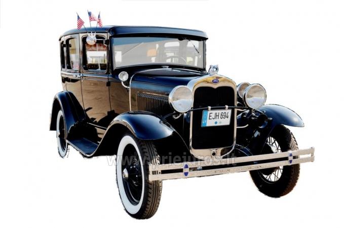 Senovinis automobilis Ford Model A 1930 nuomai - 1