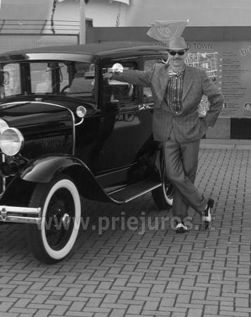 Senovinis automobilis Ford Model A 1930 nuomai - 4