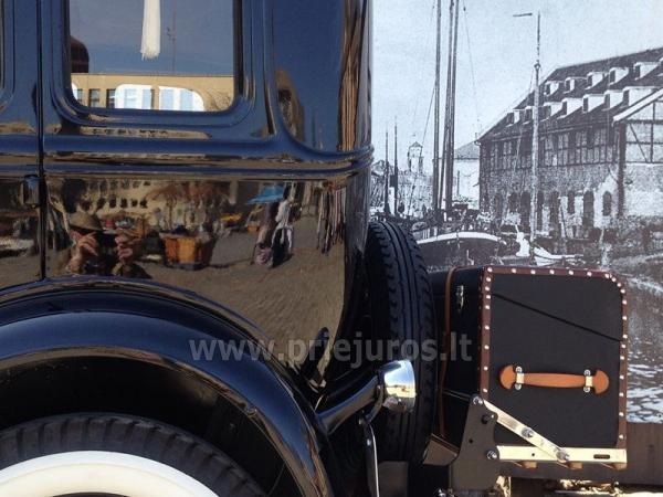 Senovinis automobilis Ford Model A 1930 nuomai - 6