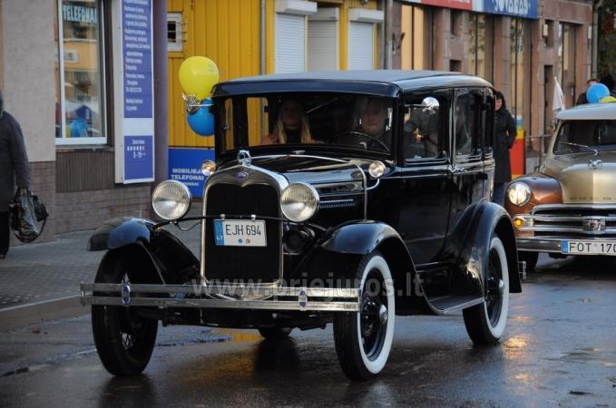 Senovinis automobilis Ford Model A 1930 nuomai - 11