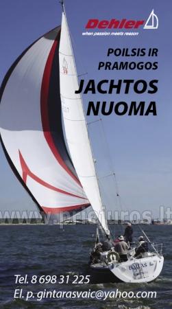 """Jachtos """"Baltas"""" nuoma Nidoje! - 5"""