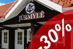 """Līdz 30% ATLAIDES visu vasaru! Atpūta Sventoji """"JURMYLE"""""""