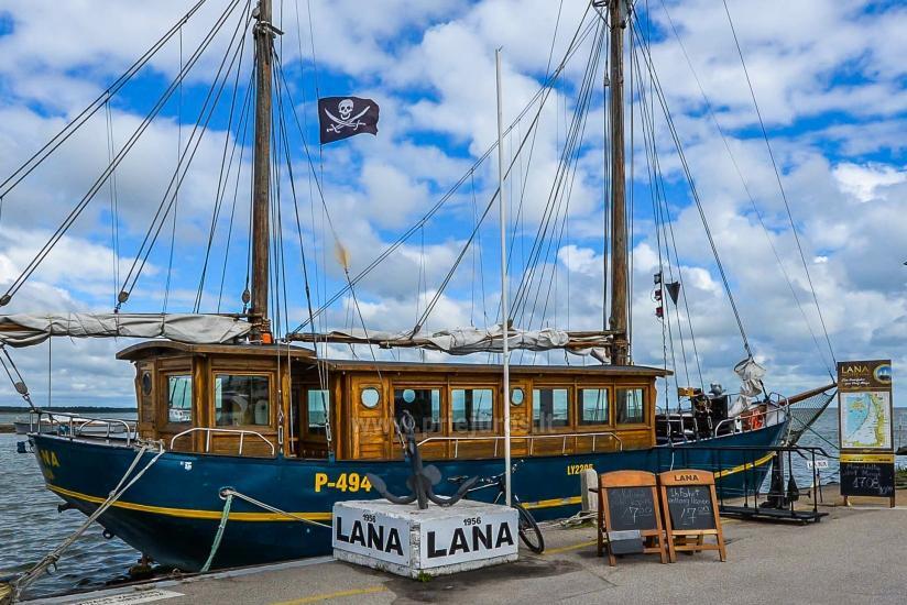 """Burinis laivas  Nidoje """"Lana"""" - 1"""