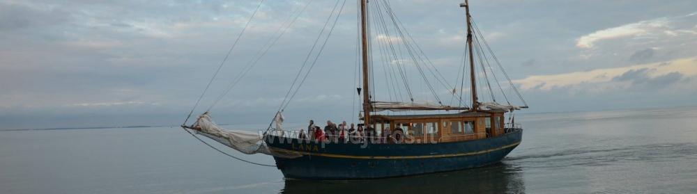 """Burinis laivas  Nidoje """"Lana"""" - 8"""