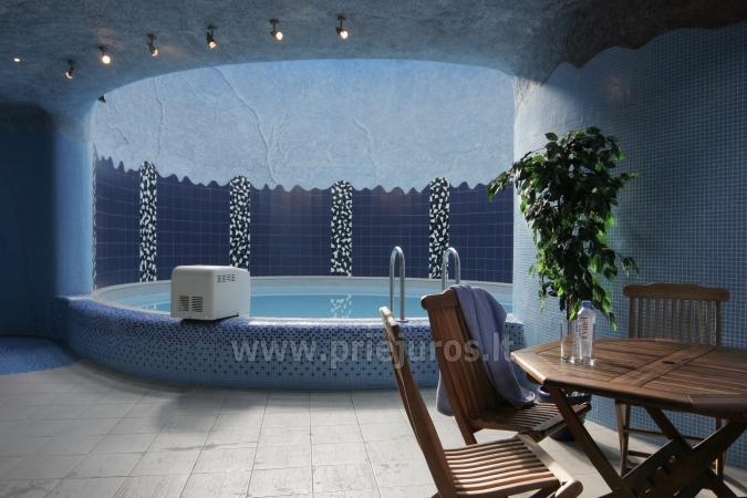 Pirtys ir baseinas. Medūza - Viešbutis Palangoje - 1