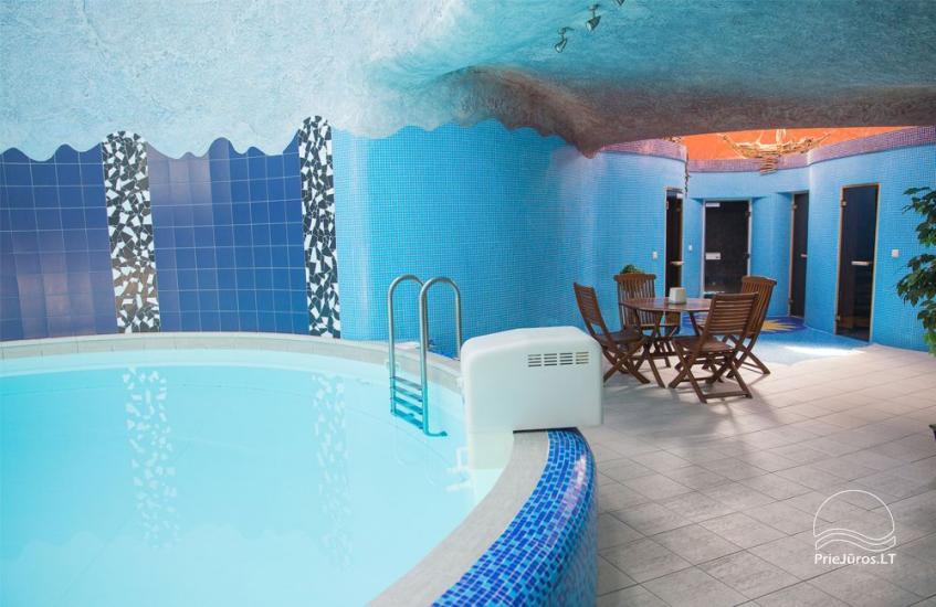 Pirtys ir baseinas. Medūza - Viešbutis Palangoje - 3