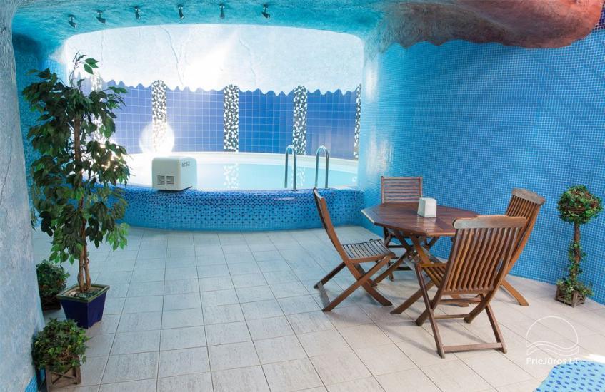 Pirtys ir baseinas. Medūza - Viešbutis Palangoje - 2