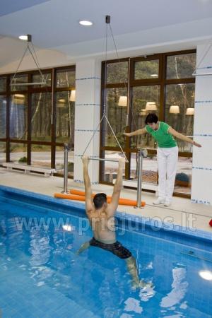 Reabilitacinis gydymas, SPA, pirtis, baseinas, sporto salė sanatorijoje Palangoje Gradiali - 11