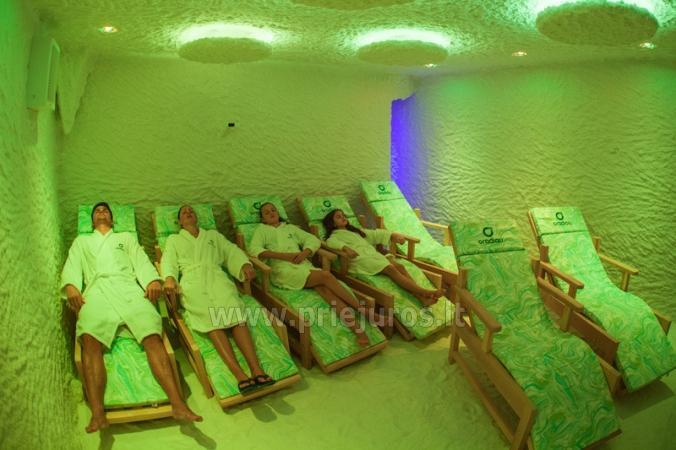 Reabilitacinis gydymas, SPA, pirtis, baseinas, sporto salė sanatorijoje Palangoje Gradiali - 13