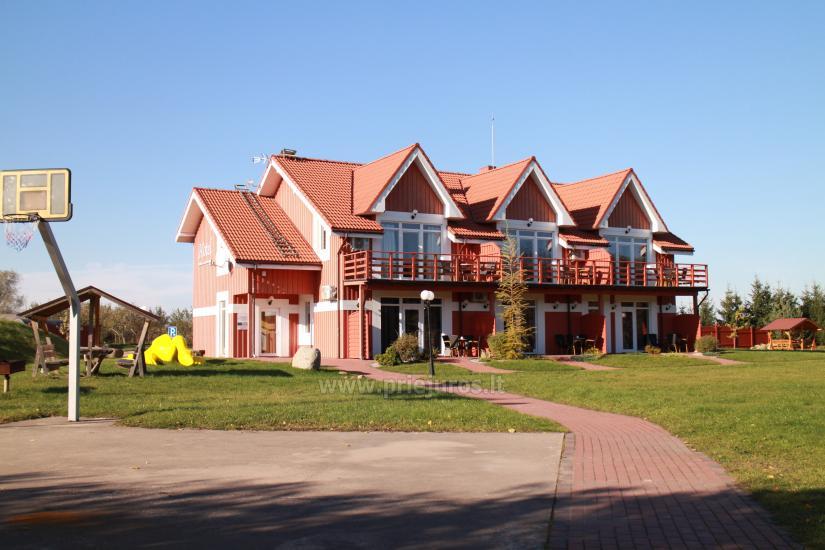 RADAILIU DVARAS - viesnica - restorans - pirtis - 7km lidz Klaipedai - 18
