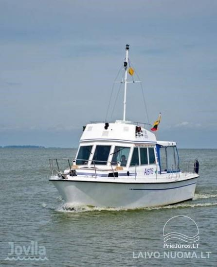 Plaukimas jachta Kuršių mariose, Nemuno deltoje, jūroje - kelionė jachta iš Nidos, Klaipėdos, Mingės - 1