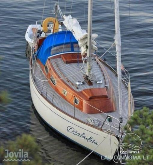 Plaukimas jachta Kuršių mariose, Nemuno deltoje, jūroje - kelionė jachta iš Nidos, Klaipėdos, Mingės - 3