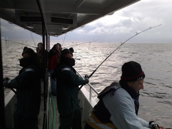 Рыбалка в балтийском море литва