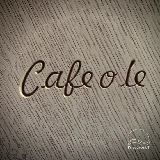 Café o lé - cafe o nthe shore of the sea