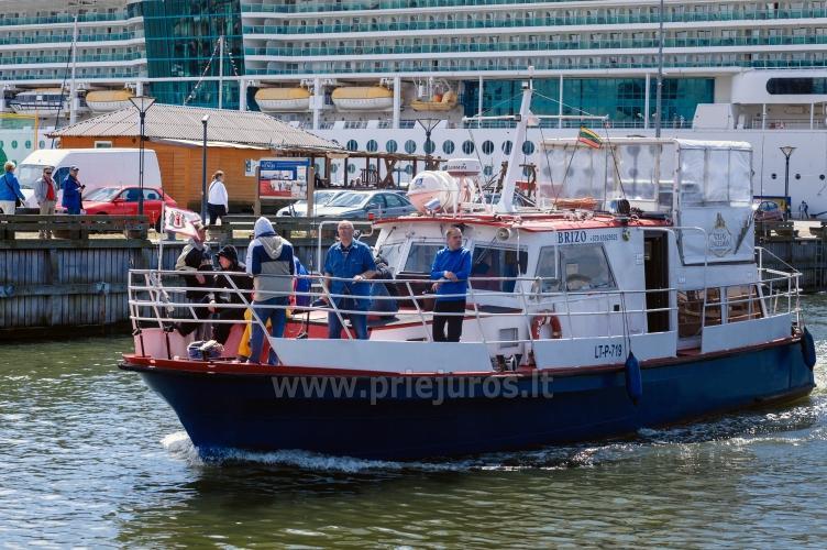 Laivas BRIZO. Laivo nuoma pramogoms. Išvykos laivu į Juodkrantę, Nidą...Menkių žvejyba Baltijos jūroje. Lašišų žvejyba Baltijos jūroje - 10
