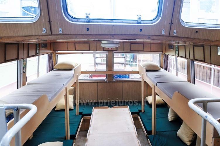 Laivas BRIZO. Laivo nuoma pramogoms. Išvykos laivu į Juodkrantę, Nidą...Menkių žvejyba Baltijos jūroje. Lašišų žvejyba Baltijos jūroje - 7