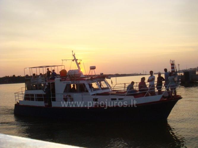 Laivas BRIZO. Laivo nuoma pramogoms. Išvykos laivu į Juodkrantę, Nidą...Menkių žvejyba Baltijos jūroje. Lašišų žvejyba Baltijos jūroje - 5