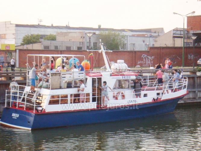 Laivas BRIZO. Laivo nuoma pramogoms. Išvykos laivu į Juodkrantę, Nidą...Menkių žvejyba Baltijos jūroje. Lašišų žvejyba Baltijos jūroje - 8