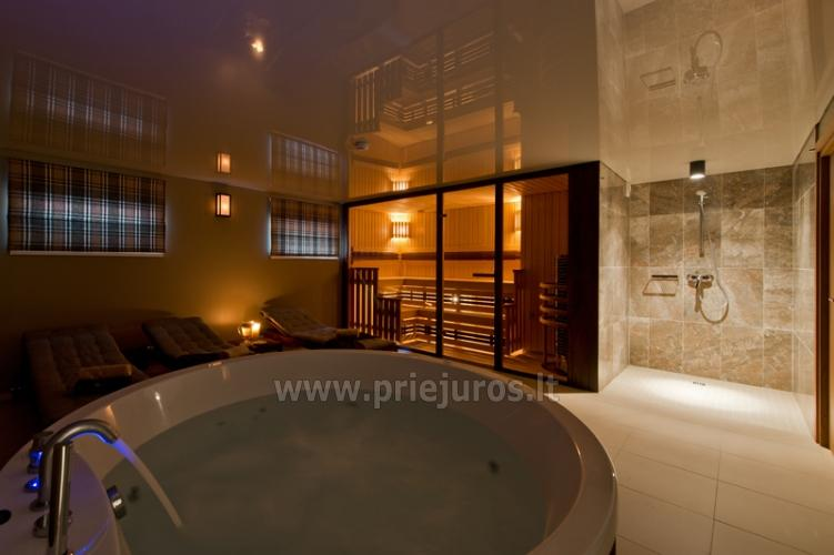 Palanga Visit - Apartamentai Palangoje su sauna ir sūkurine vonia - 4