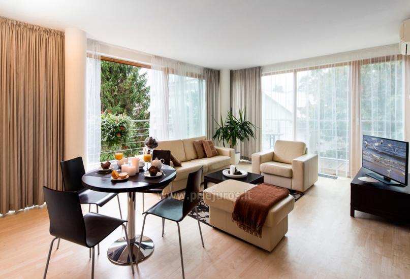 Jaukūs apartamentai ir dviviečiai kambariai Pajūrio Svečių Namuose, sauna, malonios staigmenos - 4