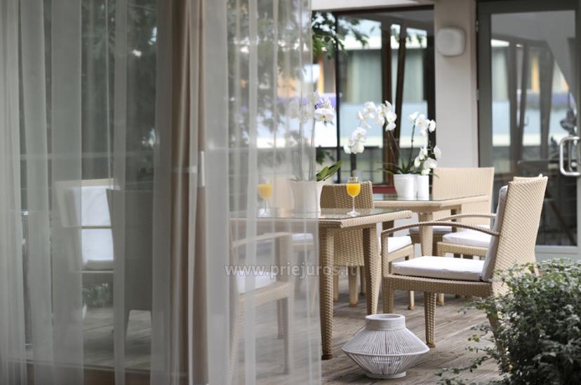 Jaukūs apartamentai ir dviviečiai kambariai Pajūrio Svečių Namuose, sauna, malonios staigmenos - 12