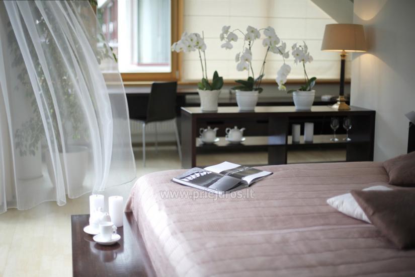 Jaukūs apartamentai ir dviviečiai kambariai Pajūrio Svečių Namuose, sauna, malonios staigmenos - 13