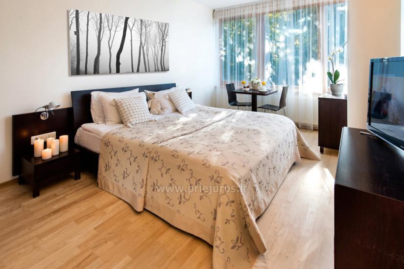 Jaukūs apartamentai ir dviviečiai kambariai Pajūrio Svečių Namuose, sauna, malonios staigmenos - 14