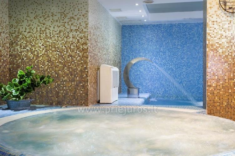 Infrasauna, pirtis, sūkurinė vonia, baseinas, masažas, grožio procedūros viešbutyje Alka **** - 2