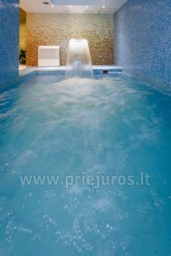 Infrasauna, pirtis, sūkurinė vonia, baseinas, masažas, grožio procedūros viešbutyje Alka **** - 3