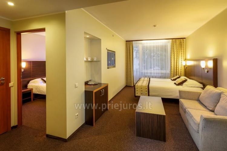 Infrasauna, pirtis, sūkurinė vonia, baseinas, masažas, grožio procedūros viešbutyje Alka **** - 4