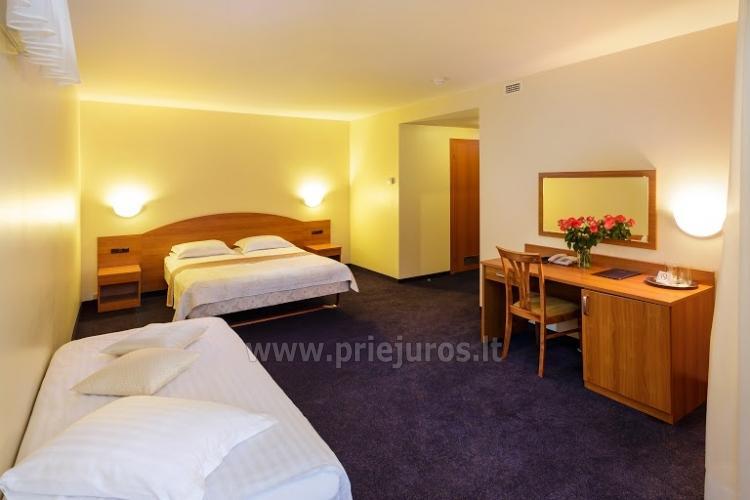 Infrasauna, pirtis, sūkurinė vonia, baseinas, masažas, grožio procedūros viešbutyje Alka **** - 5