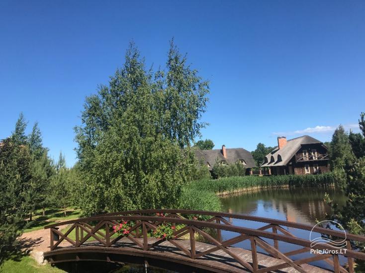 40 vietų konferencijų salė viešbutyje Pajūrio sodyba - 16