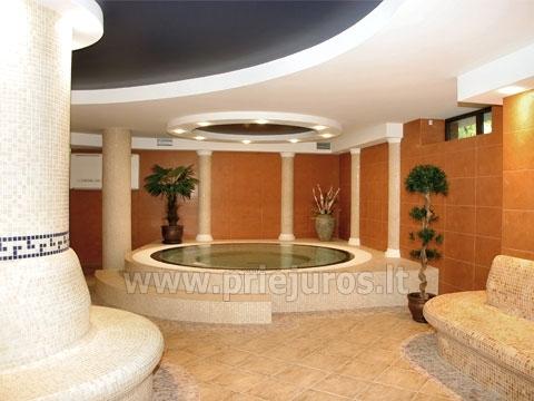 SPA centrs viesnīcā Kerpe *** - 2